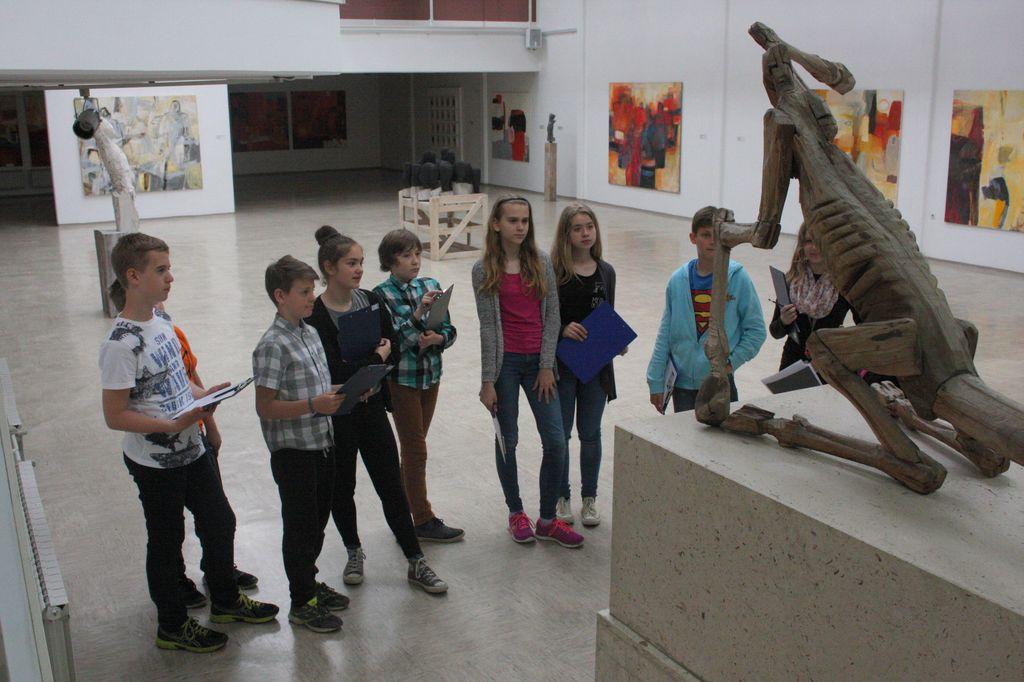 Učni uri nemščine v Galeriji Murska Sobota