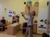 Obisk Andreja Rozmana Roze v bolnišničnem oddelku