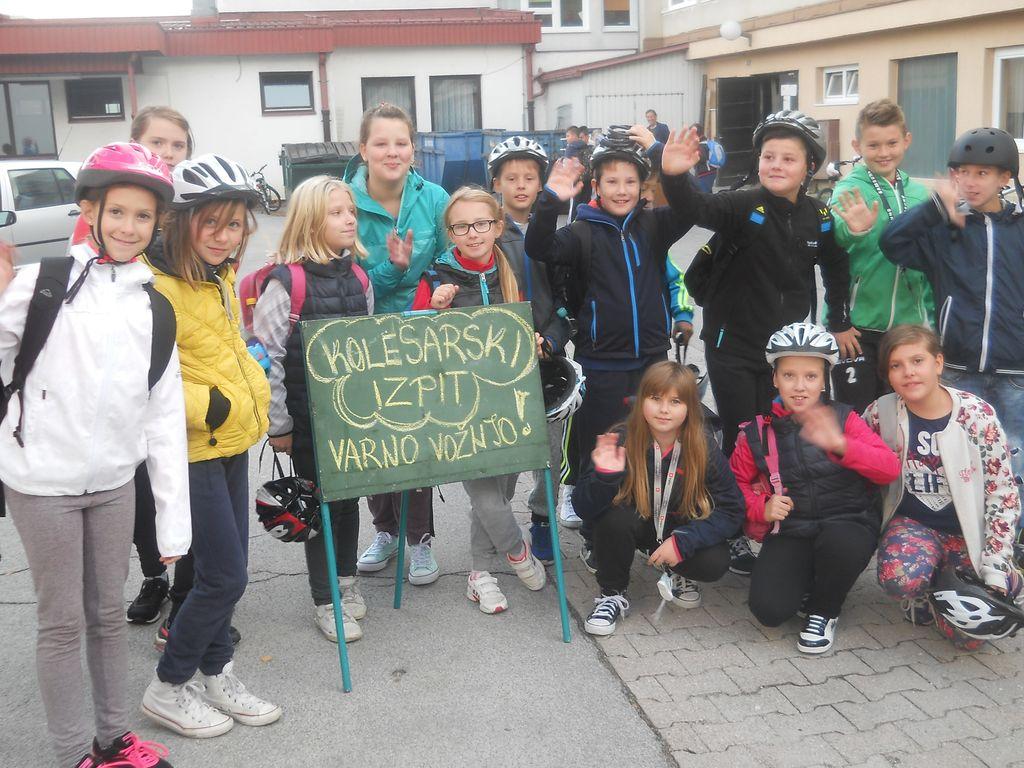Petošolci – kolesarski izpit