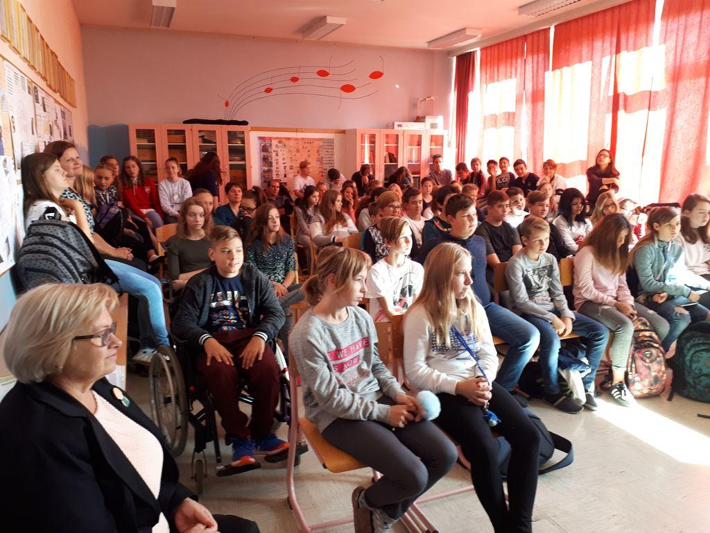 Obiskala sta nas Anja Štefan in Miroslav Košuta